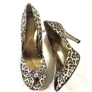 Barneys New York  Leopard High Heels Size 9.5
